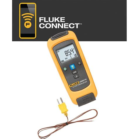 Thermometer Fluke thermometer fluke lk t3000 fc 200 up to 1372 176 c from conrad