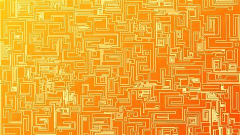 Orange Geometric Wallpaper   WallpaperSafari