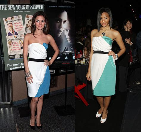 Who Wore It Better 2008 Abaet Dress simmons popsugar fashion