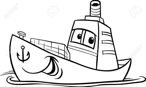 boat cartoon black and white funny clipart boat pencil and in color funny clipart boat