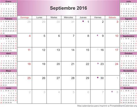 Calendario Septiembre 2017 Septiembre 2017 Calendario Para Imprimir Calendarios