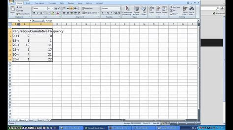 create frequency table in excel relative frequency distribution table excel