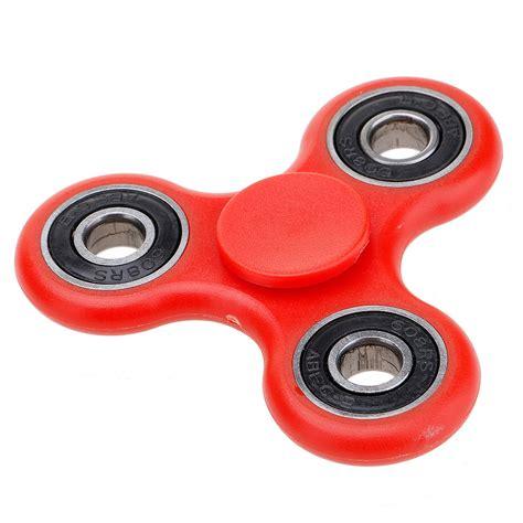 Spinner Fidget Handspinner Three Spin 1 fidget finger spinner 3d edc focus stress reliever toys for adults ebay