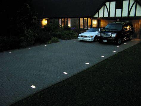 recessed lighting installing recessed driveway lights