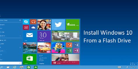 install windows 10 on usb drive install windows 10 preview from a flash drive bjorn3d com