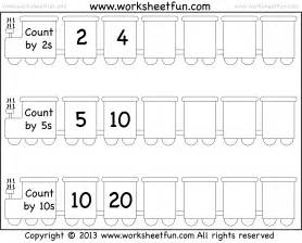 free coloring pages of skip counting