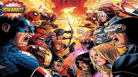 mega videocomic quot avengers vs x men quot parte 1 de 3 historia completa especial 200k subs youtube