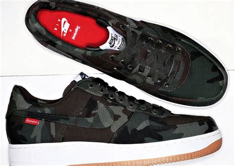 nike air 1 low supreme supreme x nike air 1 low sneakernews
