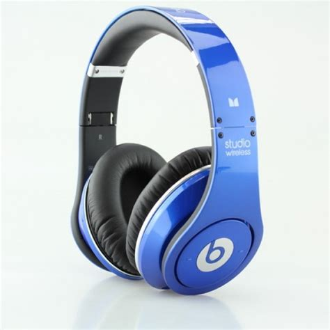 Bluetooth Headphone Beats By Drdre beats by dr dre studio wireless bluetooth headphones blue