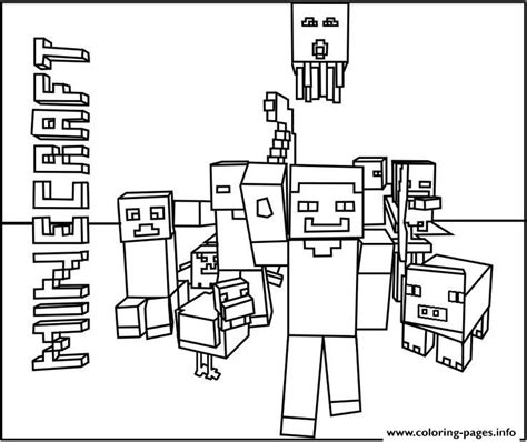 minecraft coloring pages world minecraft world team coloring pages printable