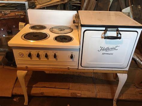 vintage range old vintage 1920 porcelain hotpoint automatic electric