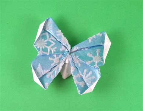 Origami Database - butterfly diana wolf michael g lafosse gilad s