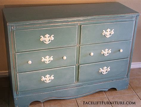 White Dresser With Blue Drawers by Blue Distressed White Dresser Drawer Like Success