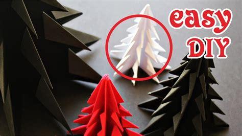 membuat pohon natal dari kertas origami mudah youtube diy cara membuat pohon cemara dari kertas origami how