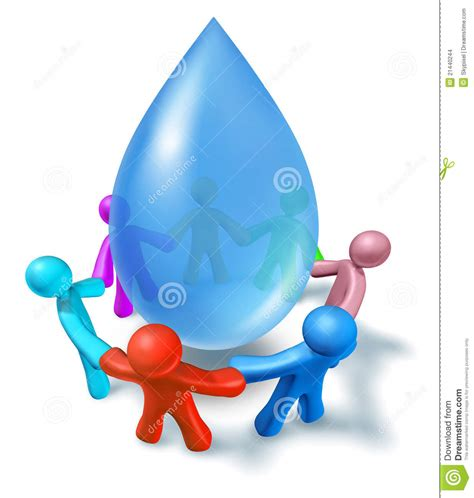 clean drinking water symbol stock illustration image