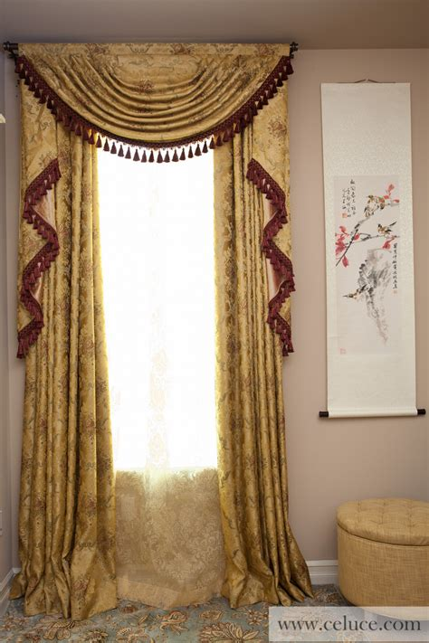 austrian curtain austrian swag valances curtain drapes versailles rose