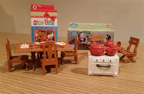 sylvanian dolls house sylvanian style dolls house 2 sets of furniture 163 5 50 picclick uk