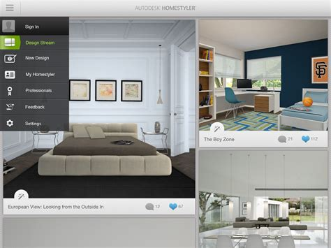 home design software europe new autodesk homestyler app transforms your living space
