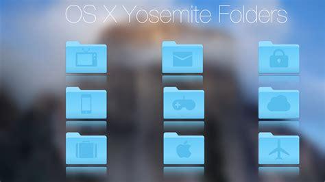 home design osx free yosemite custom folders by coloradan on deviantart