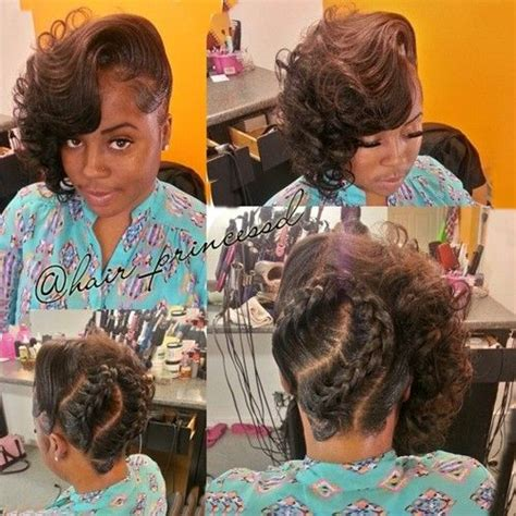 updo transitional natural hairstyles for the african american woman 2015 50 superb black wedding hairstyles back braid follow me