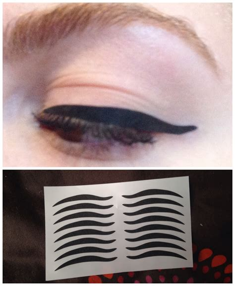 8pairs Cat Temporary Eyeliner Eyeshadow Sticker Eye Tattoo   8pairs wild cat eyes design temporary eyeliner eye liner