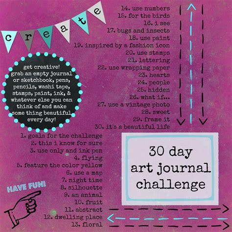 themes for photo challenges 30 day art journal ideas art journals pinterest