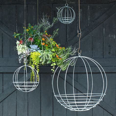 outdoor hanging planter ideas  designs