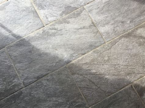 deep cleaning porcelain textured floor tiles