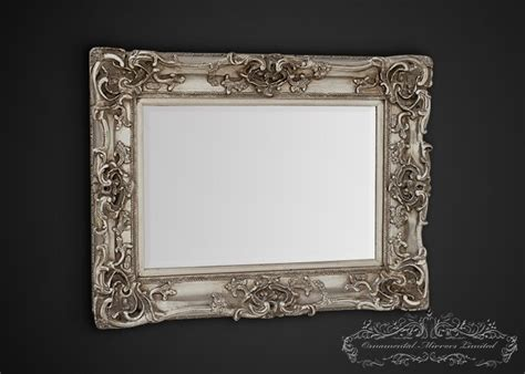 Traditional Dining Room Table bellagio silver ornate mirror