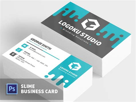 meetup business card template free slime business card template by ibrandstudio dribbble