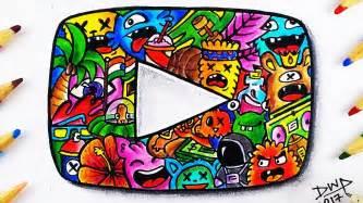 doodle yt custom doodle play button vexx timelapse