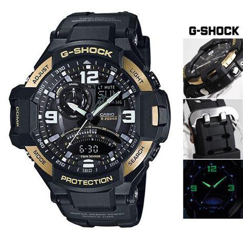Jam Tangan G Shock Ga1000 3 casio gshock g aviation gold sensor wr200m
