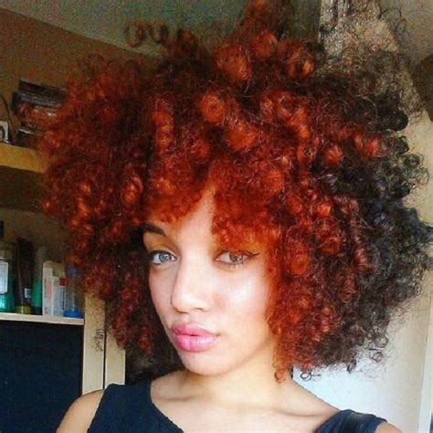 afro hair styles and cuts and color best 25 red afro ideas on pinterest black girls red
