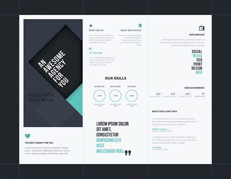 free templates for brochure design psd 25 tri fold brochure templates psd ai indd free