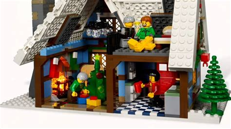 lego seasonal hd winter village cottage 10229