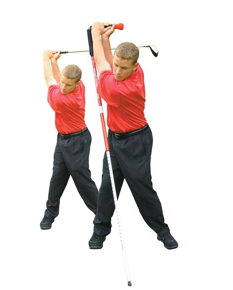 exercise for golf swing golf tour stretching pole exercise stik swing speed ebay