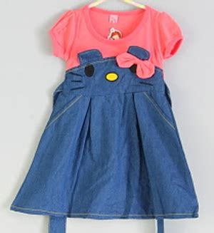 Dress Anak Import Soft Denim Uky jual dress anak cat bawah denim usia 3 4 5 tahun keikidscorner baju anak branded murah