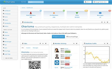 charisma template 24 free responsive website html templates web graphic
