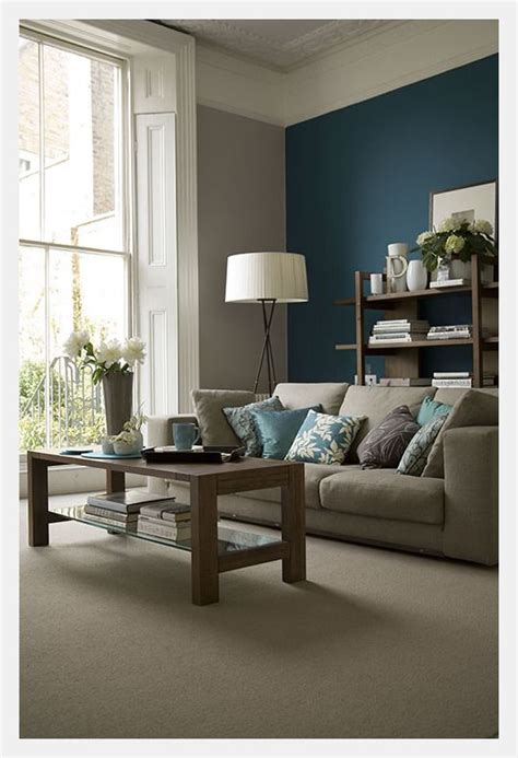 Teal Accent Wall teal accent wall living rooms pinterest