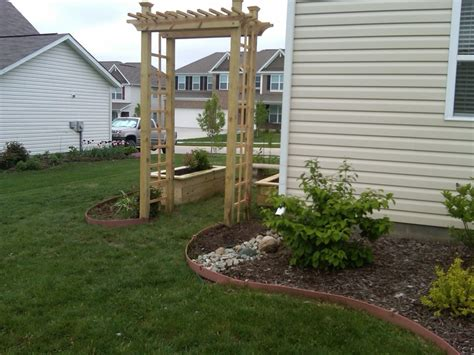 Mulch For Vegetable Garden Beds Arbor Raised Beds Vegetable Garden Still Need To Add