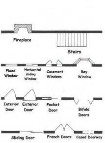 floor plan stairs symbols common architectural floor plans symbols for doorways stairs fireplaces homebuilding
