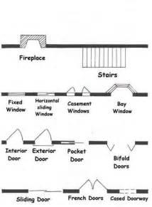 stairs floor plan symbol common architectural floor plans symbols for doorways