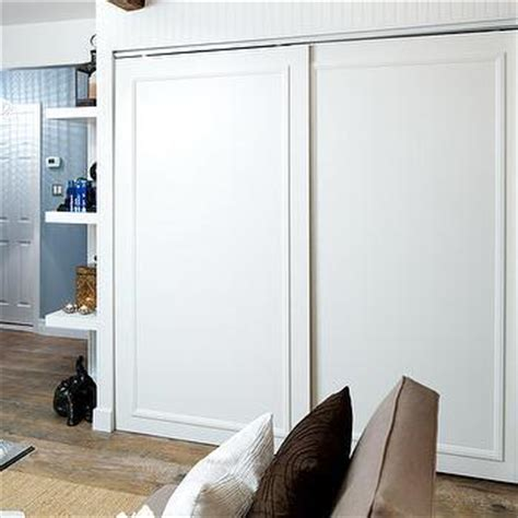 flat screen tv in a closet built in tv niche contemporary closet la closet design