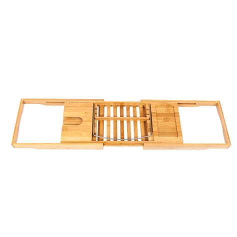 bathtub book rack bamboo bathtub caddy shower rack bath tub tray organizer