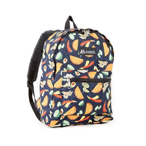 Backpack Basic basic pattern backpack everest bag