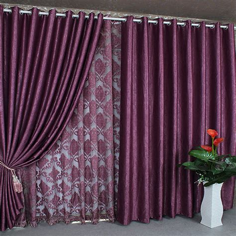 Curtains With Purple In Them Purple Curtains Curtain Menzilperde Net