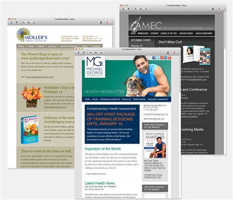 html newsletter design software email marketing by big rig media