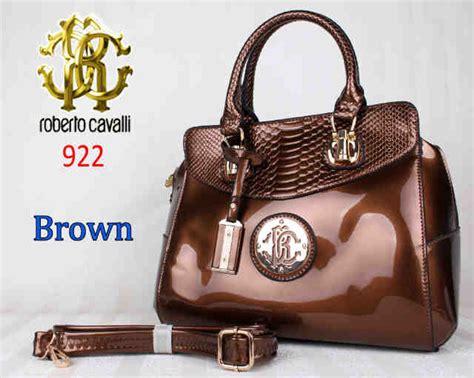 Tas Roberto Cavalli 3 bag roberto cavalli 922 uk 33x18x27 brown toko brand