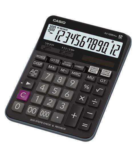 Casio Calculator Dj 120d Plus casio check recheck dj 120d plus calculator pack of 1