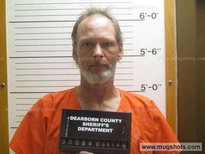 Dearborn County Arrest Records Indiana Brian D Woodruff Mugshot Brian D Woodruff Arrest